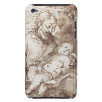 St. Joseph with the Sleeping Christ Child (pen & b Barely There iPod Case