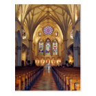 St. Joseph's Cathedral - Main Aisle/Front Postcard