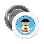 St. Juan Diego 6 Cm Round Badge