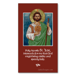 St. Jude | Lost Causes | Prayer Magnets | 25 pack