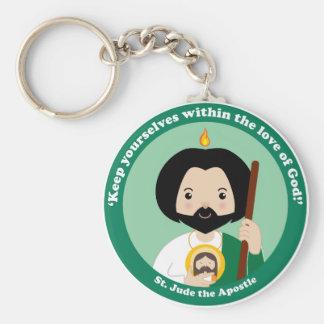 St. Jude the Apostle Key Ring