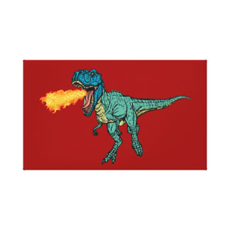 St Judeasaurus Rex by Steve Miller Gallery Wrapped Canvas