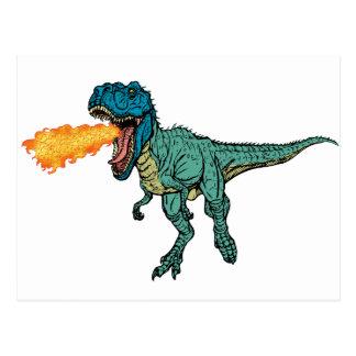 St Judeasaurus Rex by Steve Miller Postcard