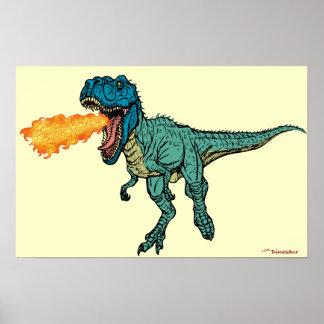 St Judeasaurus Rex by Steve Miller Posters