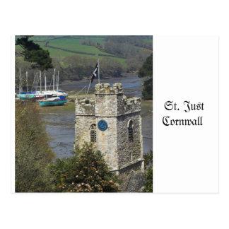 St Just Cornwall Postcard