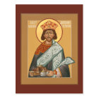 St. Justinian Emperor of Byzantium Prayer Card
