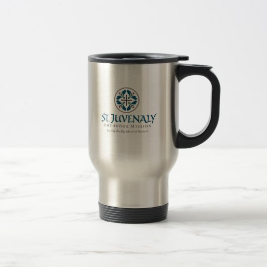 st.Juvenaly logo Travel Mug