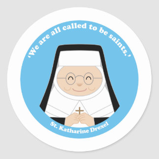 St Katharine Drexel Stickers