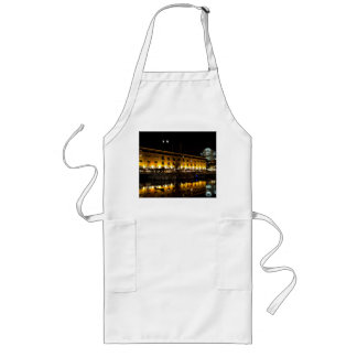 St Katherines Dock London night View Long Apron