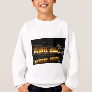 St Katherines Dock London night View Sweatshirt