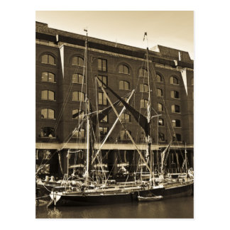 St Katherine's Dock London Postcard