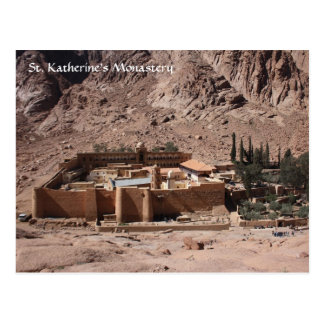 St. Katherine's Monastery Postcard