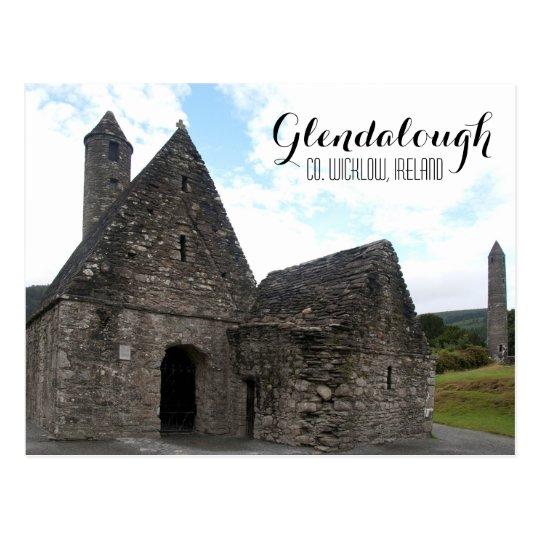 St. Kevin's Church, Glendalough Postcard