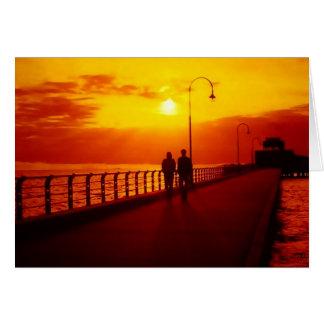 St Kilda Pier  Card