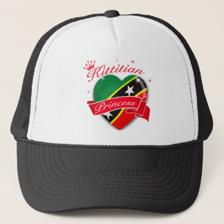 St Kitts and Nevis Princess Trucker Hat