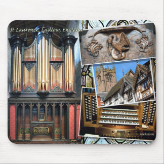 St Laurence organ, Ludlow, England Mouse Pad