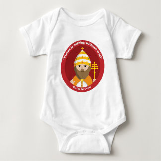St. Leo the Great Baby Bodysuit