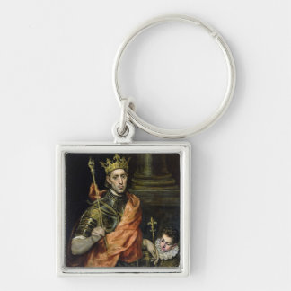St. Louis  and his Page, c.1585-90 Key Ring