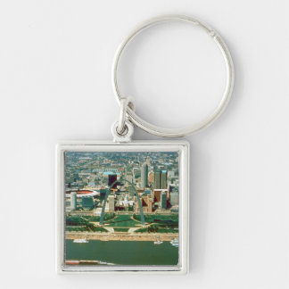 St. Louis Arch and Skyline Key Ring
