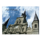 St Louis Cathedral Church in New Orleans Postcard