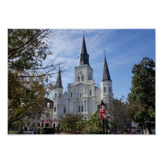 St. Louis Cathedral - French Quarter, New Orleans Poster