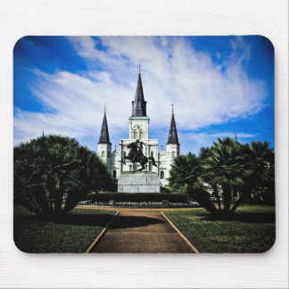 St Louis' Cathedral Mouse Mat