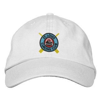 St Louis Curling Club Hat Embroidered Hats