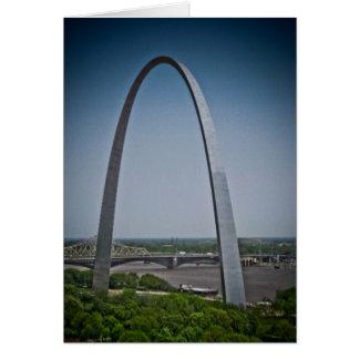 St. Louis Gateway Arch Card