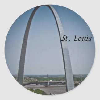 St Louis Gateway Arch Sticker