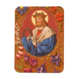 St. Louis IX the King (PM 05) Rectangular Photo Magnet