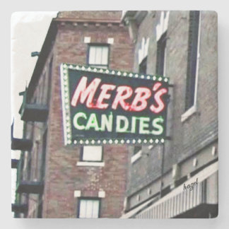 St. Louis, Merbs Candy,Saint Louis Marble Coasters Stone Beverage Coaster