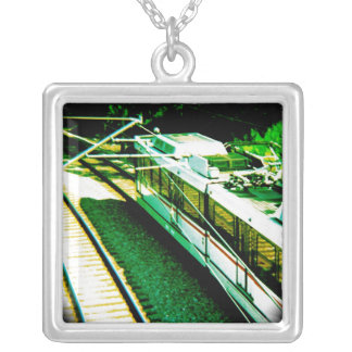 St. Louis Metro From Bridge In Forest Park Jewelry