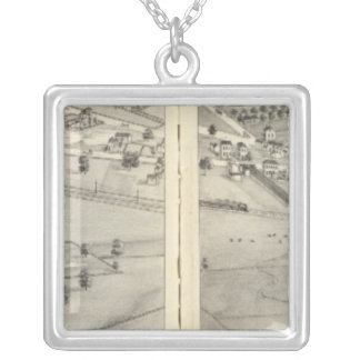 St. Louis, Missouri 10 Silver Plated Necklace