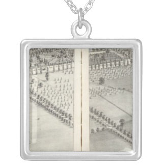 St. Louis, Missouri 12 Silver Plated Necklace