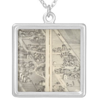 St. Louis, Missouri 13 Silver Plated Necklace