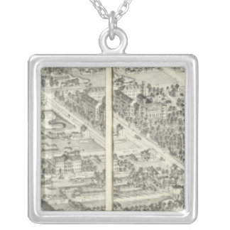 St. Louis, Missouri 14 Silver Plated Necklace