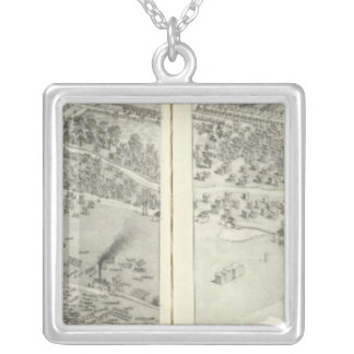 St. Louis, Missouri 15 Silver Plated Necklace