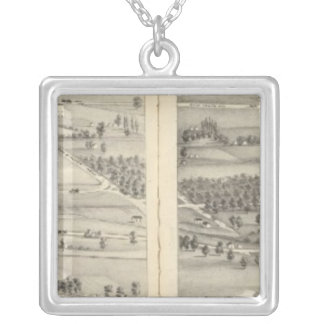 St. Louis, Missouri 18 Silver Plated Necklace