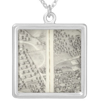 St. Louis, Missouri 19 Silver Plated Necklace