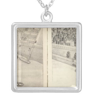 St. Louis, Missouri 21 Silver Plated Necklace