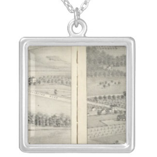 St. Louis, Missouri 23 Silver Plated Necklace