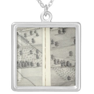 St. Louis, Missouri 24 Silver Plated Necklace