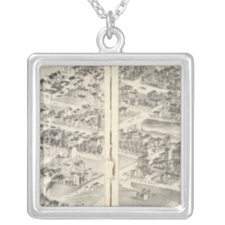 St. Louis, Missouri 26 Silver Plated Necklace