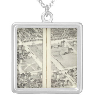 St. Louis, Missouri 4 Silver Plated Necklace