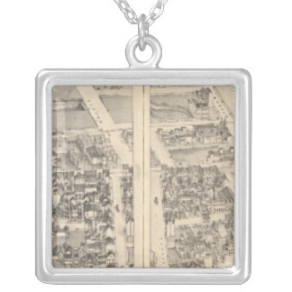 St. Louis, Missouri 5 Silver Plated Necklace