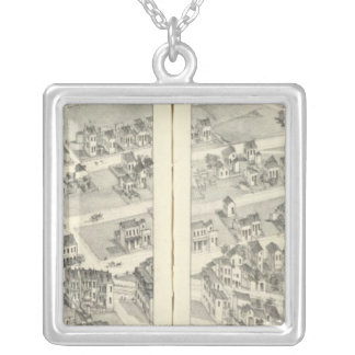 St. Louis, Missouri 8 Silver Plated Necklace