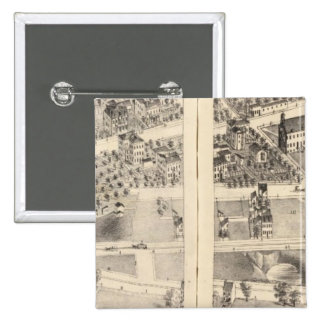 St. Louis, Missouri 9 15 Cm Square Badge