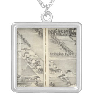 St. Louis, Missouri 9 Silver Plated Necklace