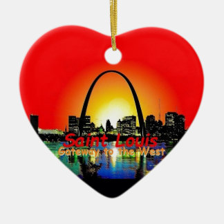 St. Louis Missouri Christmas Ornament