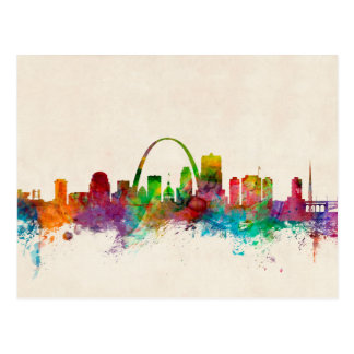 St Louis Missouri Skyline Postcard